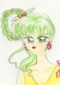 Gorgeous Naoko Takeuchi style image of Yoake [Iris]