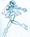 Sketch of Aquarius [Deborah]