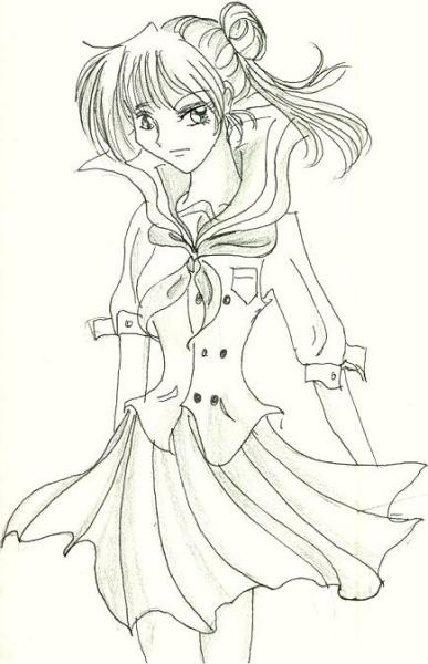 Manga Styled Ako-chan [Ashiko]