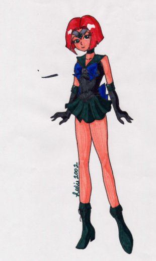 A supercute Sailorcapricorn [Leslie]