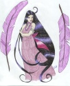 Beautiful drawing of Pandora de Dosei [Elizabeth H.]