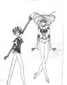 Gemini & Levitating Virgo [Misty/ChibiSeishi]
