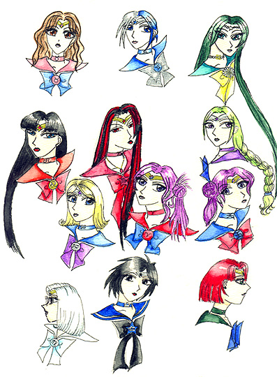 The Zodiac Senshi [K Mako/Beth]