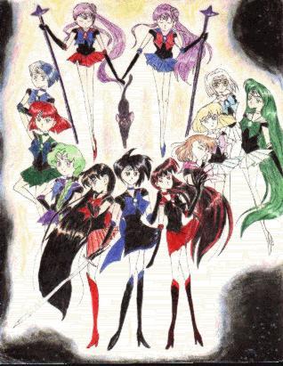 Zodiac Senshi and Estrella [Arisugawa]