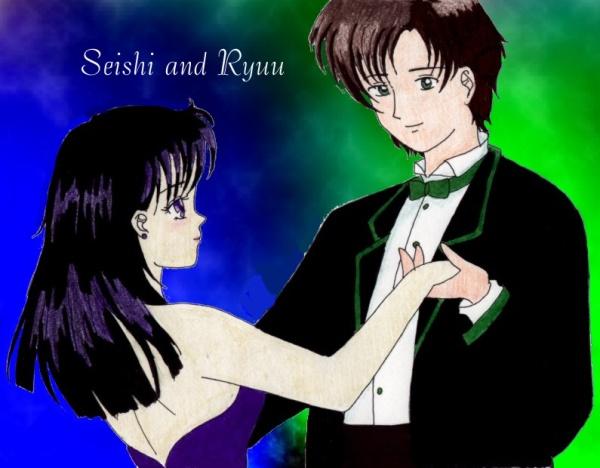 Ryuu and Seishi dancing. :) [Tsukino Hikaru]