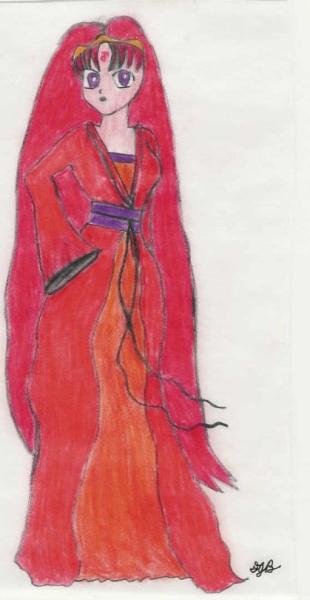 Sassy Juno (also in ceremonial dress) [Frank]