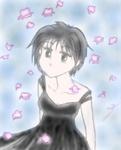 Libra amongst flowers [Liane]