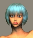 Another cool 3D rendering of Kasumi [John Cobb]