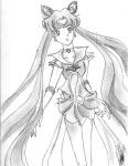 A beautifully shaded image of Neo Sailormoon. [Ashiko-chan]