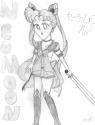 Neo Moon with sword [Shannon/Lobo Silver Illunis]