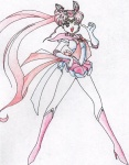 Super-short-skirted Neo Moon [Megan Simko]