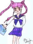 Usa-chan going to school [Jon Sheridan]