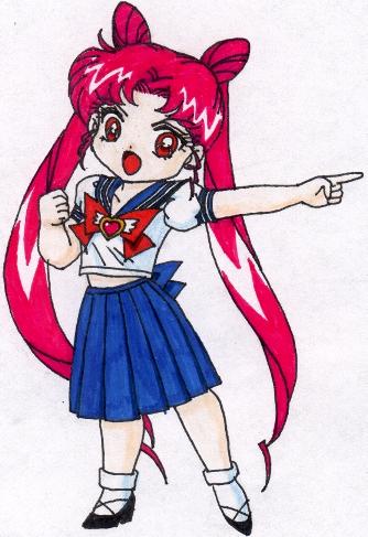Super Deformed Usa-chan [Megan Simko]