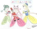 Yoake, Usa-chan, and Himeko starring in the Nutcracker~ [Michelle]