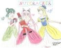 Yoake, Usa-chan, and Himeko starring in the Nutcracker~ [Michelle]