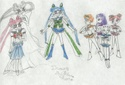 Ep: 20 - The Star Senshi and the Sailorsenshi meet for the first time. Nice expressions [Corinna Thomas]
