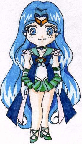 Super Genki SD Neo Sailorneptune [Megan Simko]