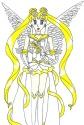 Usagi as Princess Sailormoon [unknown]