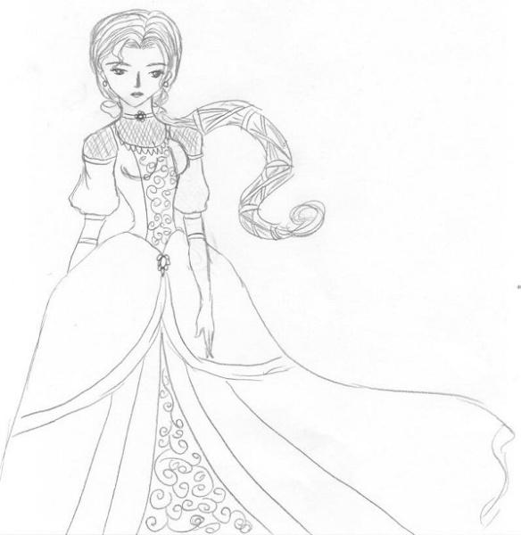An elegant Princess Beryl [Kaworu]