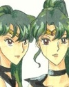Sisterly Love, cool picture of Sailorpluto and Sailorcharon [Ashiko]