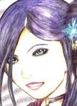 Pretty Yuurei in a pretty dress [Kayla Lewis/Sailor Rainbow]