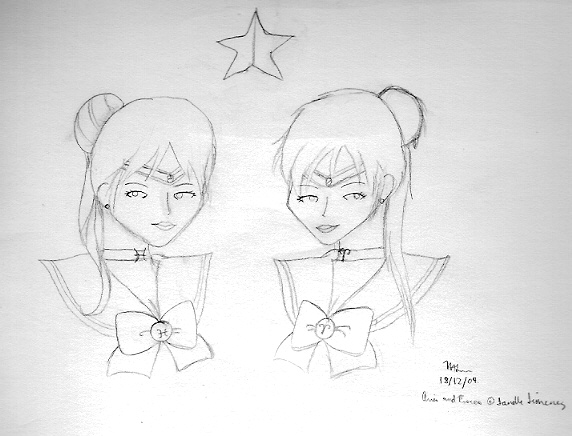 The Zodiac Twins, Pisces and Aries [Talthea]