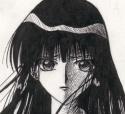 GORGEOUS pencil drawing of Seishi looking sad [Victoria Liu]