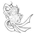 A beautiful Shikami wrapped in ribbons [Ariake Mikazuki]