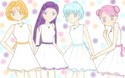 Absolutely adorable pic of the Star Senshi in white dresses [Liane]