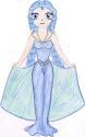 Doll-like Maia curtseying [Eliza]