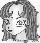 Cute Mihana's headshot [Seraphyne]