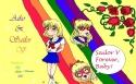 Lovely computer drawn pic of Aiko and Neo V [Crimson Acolyte/Alisha]