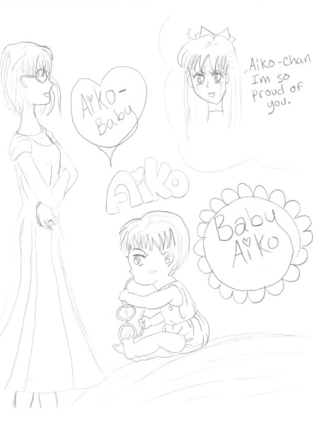 Aiko recalling her childhood (super cute pic of baby Aiko too) [Michelle]